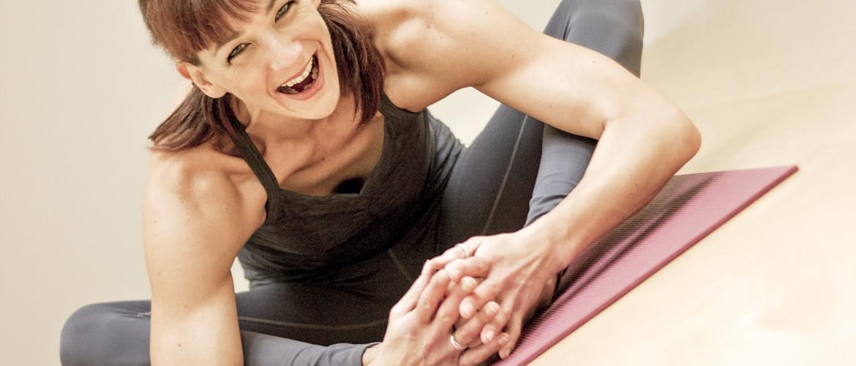 smiling yogi